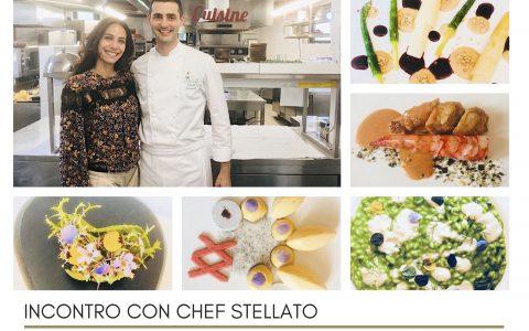 Incontro con chef stellato 2018